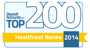 Top 200 Healthiest Banks Award